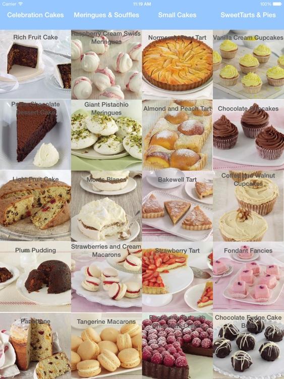 Baking - Cake Recipes Cookbook for iPad