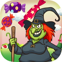 A Candy Witch FREE - Bubble Gum Matching Game