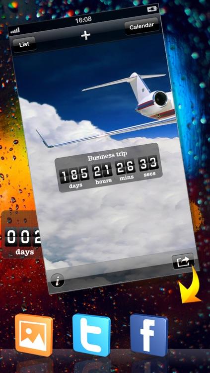 Countdown App Pro (Big Day Event Reminder & Digital Clock Timer Counter) screenshot-4
