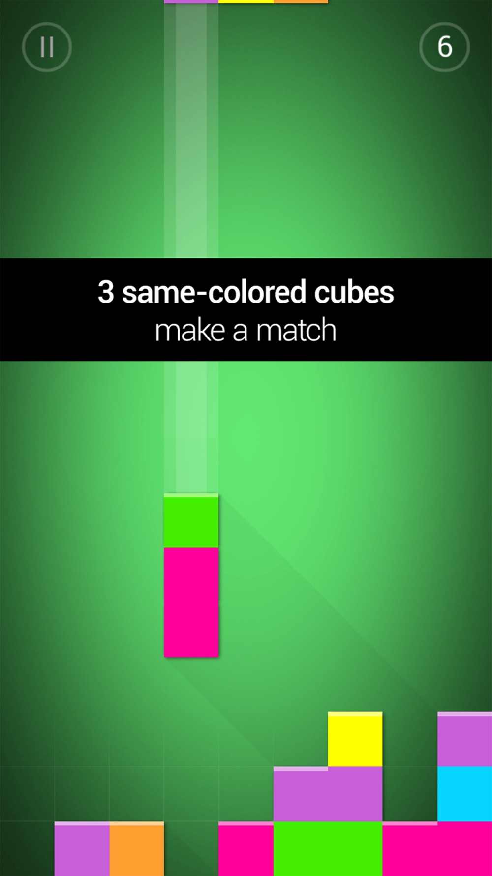 Qubies: Match-3 meets falling blocks hack tool