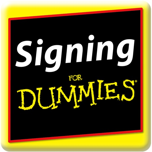 Signing for Dummies icon