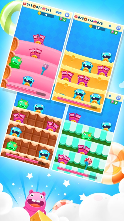Candy Monster Tap - Candy Monster Grabbing, fast paced,coin collect,tapping,super fun free game! screenshot-3