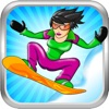 Avalanche Mountain - An Extreme Snowboarding Racing Game with penguins, babies and more!