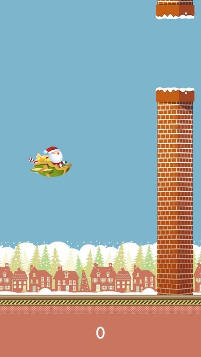 Dazzle Flappy Santa : Flying Santa Claus [Free] screenshot three