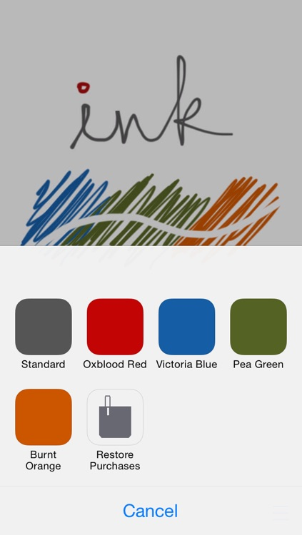Ink for iOS