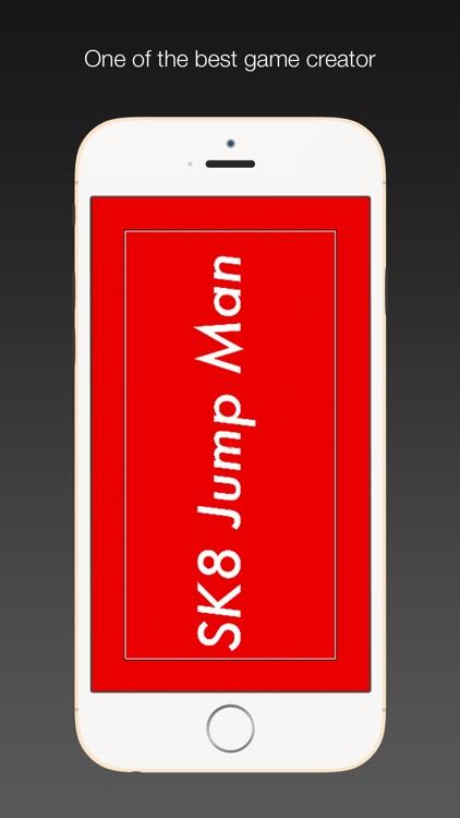 Sk8 Jump Man - kickstart skateboard with happy jump game for boys and girls screenshot-3