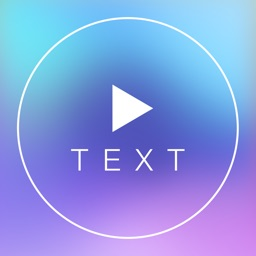 Text on Video Square - Turn Your Caption Phrase or Quote into Stylish Videos Text Designs with Background Music and Share to Instagram in Square Size