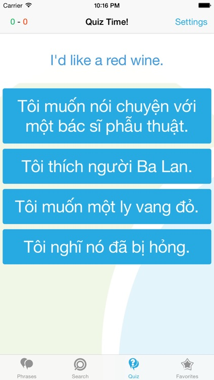 Vietnamese Phrasebook - Travel in Vietnam with ease screenshot-3