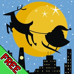 Santa in the City 3D Christmas Game + Countdown FREE