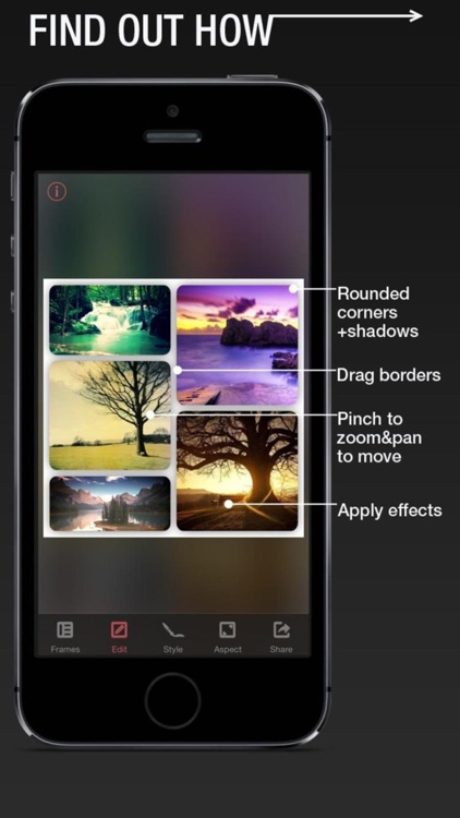 Frame Your Pics - Photo Collage and Insta Montage screenshot-3