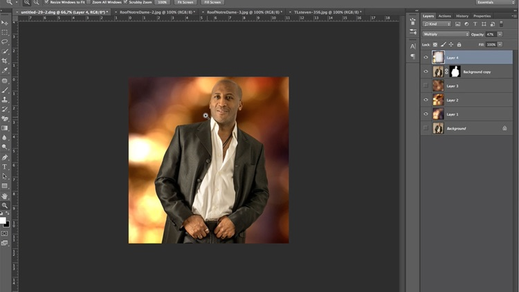 Learn How to Retouch Special Effects in Photoshop CC Edition screenshot-2