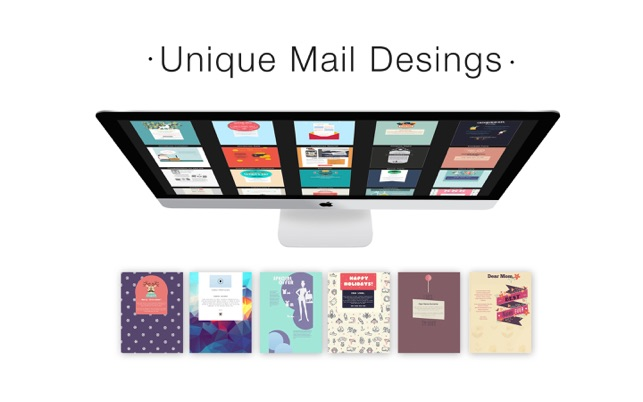 Mail Stationery Design Ideas on the Mac App Store