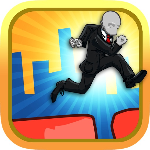 A Slenderman Sky Jump Mania Free