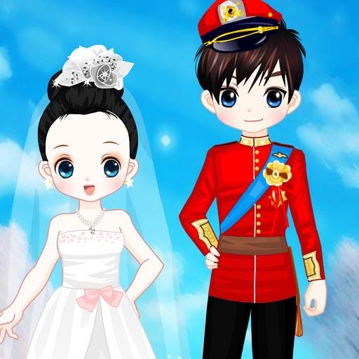 梦幻冬季婚礼换装
