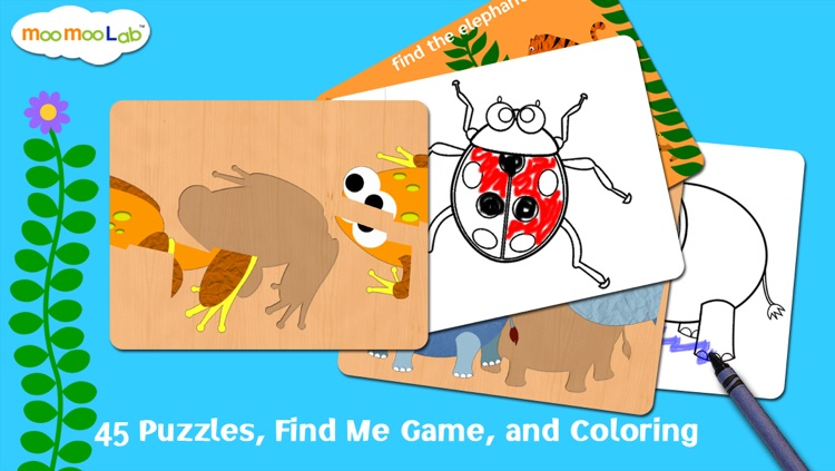 Animal World - Peekaboo Animals, Games and Activities for Baby, Toddler and Preschool Kids screenshot-1