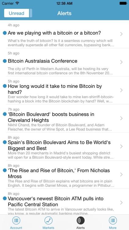 Kraken Bitcoin Exchange screenshot-4
