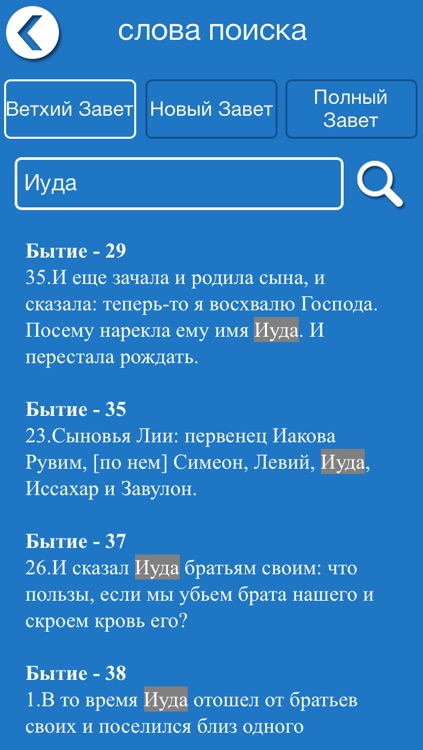 Russian Bible Offline screenshot-3