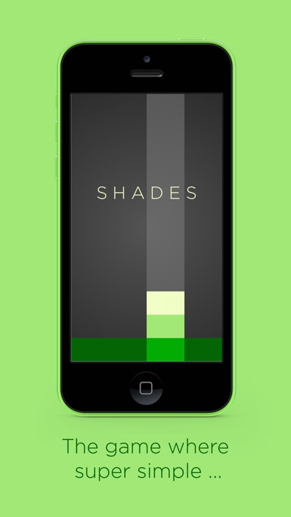 Shades: A Simple Puzzle Game