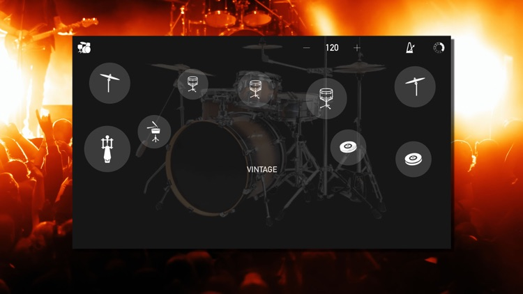 Real Drums : Free drum set screenshot-3