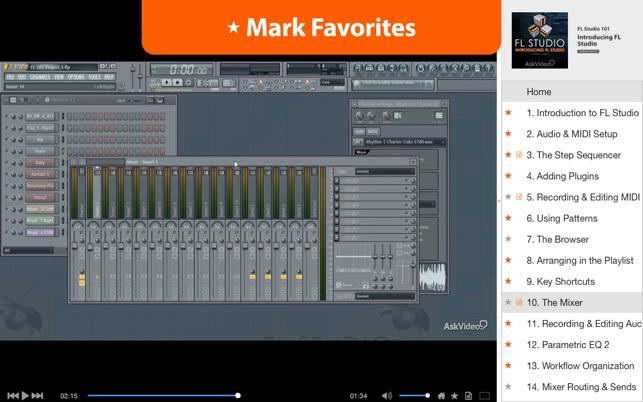 fl studio for mac 10.10