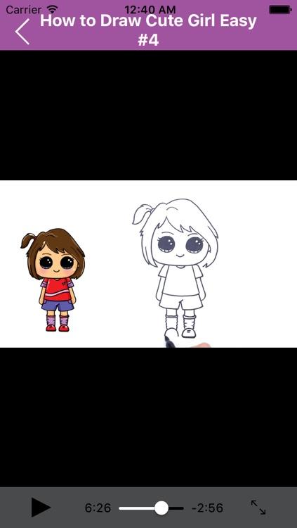 How to Draw CUTE Girls Easy screenshot-3