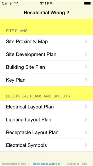 Residential Wiring Diagrams Sample on the App Store