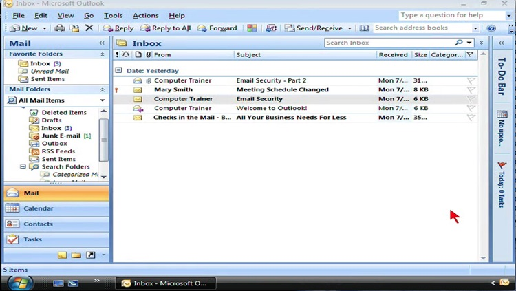 Video Training for Office Outlook screenshot-3