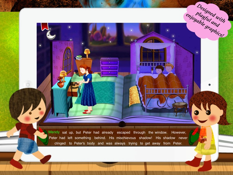 Peter Pan for Children by Story Time for Kids screenshot-3
