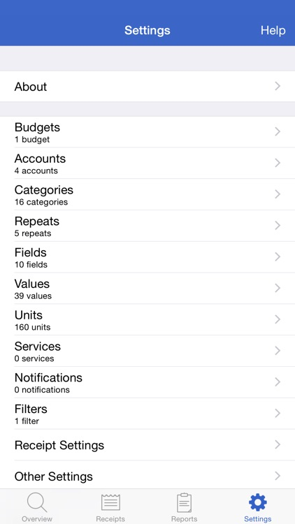 Receipts Pro - Income, Expense, and Mileage Tracker with Reports (upload to Dropbox / Evernote) and Budgets screenshot-4