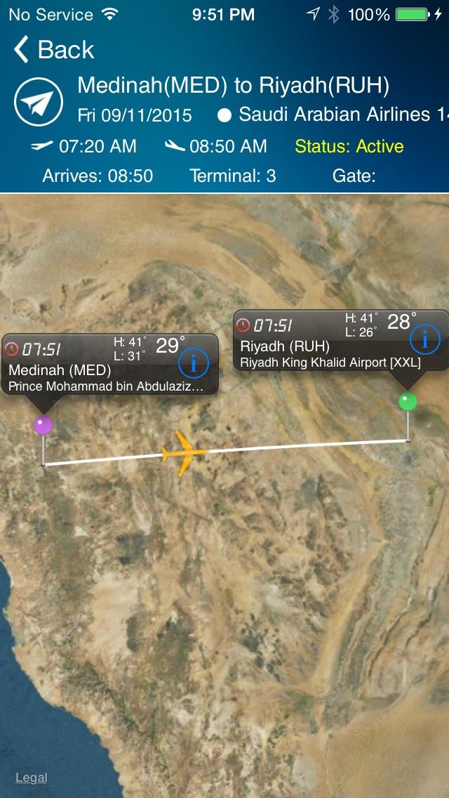 Riyadh King Kahlid Airport Pro (RUH) Flight Tracker Premium Saudi Arabian air radar airlines-0