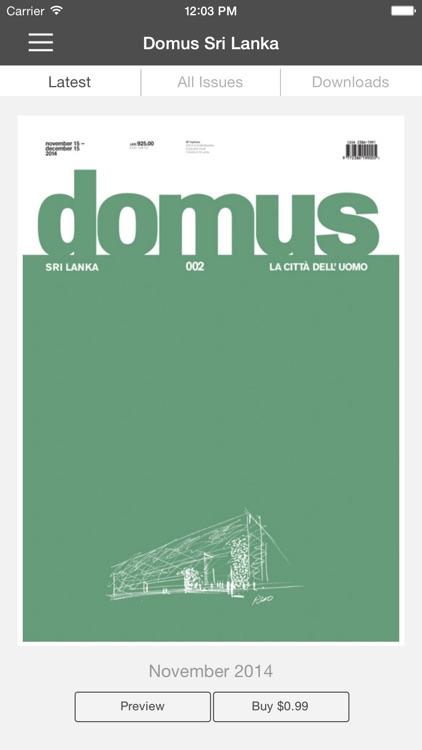 Domus - Sri Lanka
