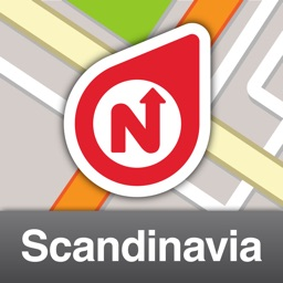 NLife Scandinavia Premium - Offline GPS Navigation, Traffic & Maps