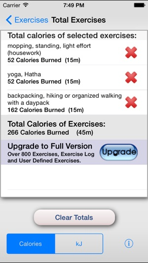 Exercise Calorie Calculator - Calculate the Calories Burned