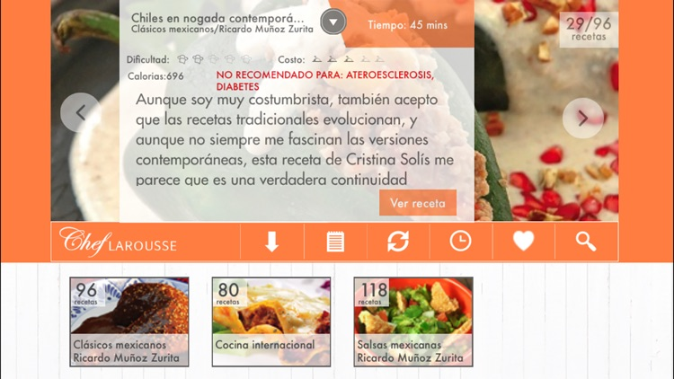El Chef Larousse screenshot-1