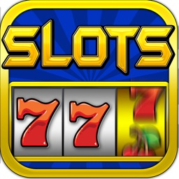`Lucky Gold Vegas 777 Slots - Slot Machine with Casino 21 Blackjack, Prize Wheel