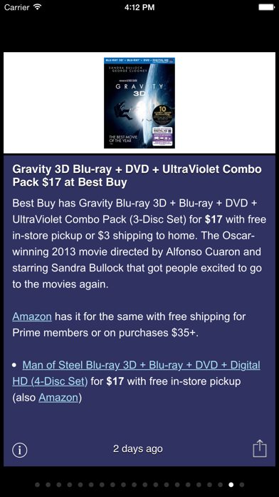 Best Bargains screenshot one