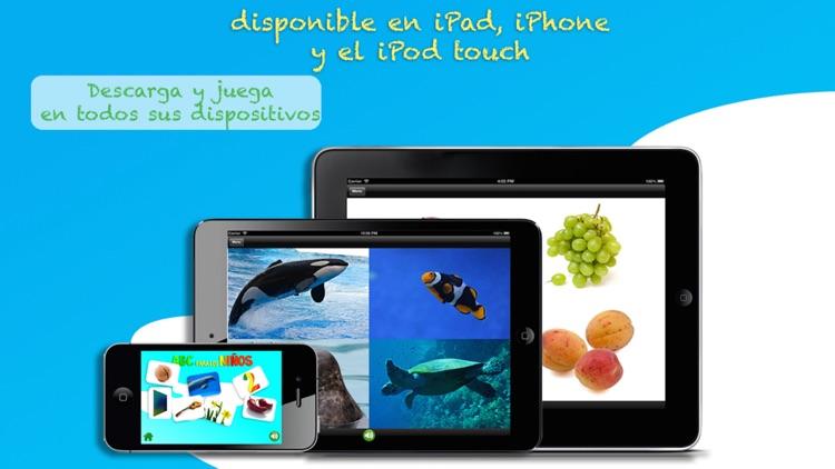 ABC para los Niños Aprende Español Gratis screenshot-4