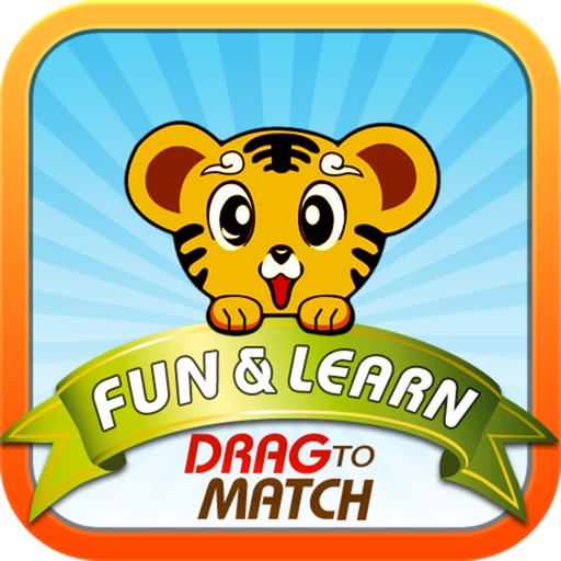 Fun and Learn : Drag to Match - The Drag and Drop Matching Game for Kids