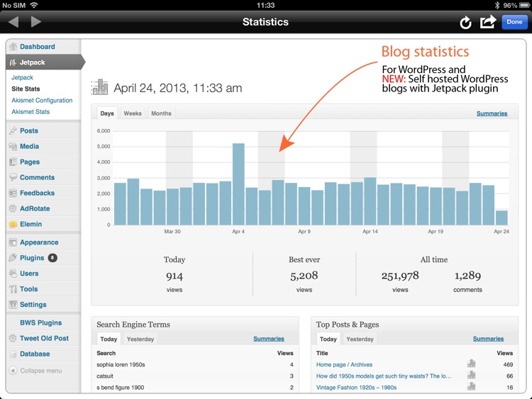 BlogPad Pro for WordPress & Blogger screenshot-3