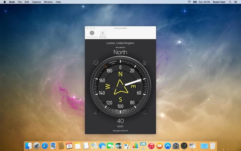 Anemometer - Wind speed på PC