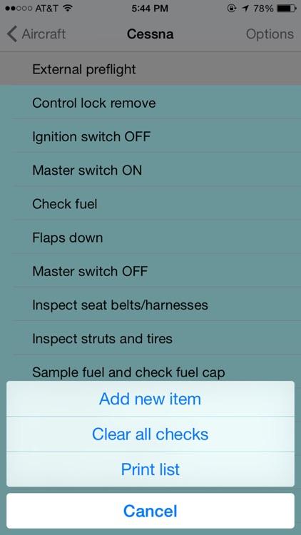 Pilots Checklist screenshot-3