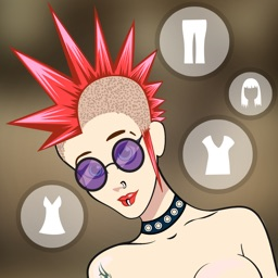 Funky Girl Dress Up Mania - celebrity fashion dressing game