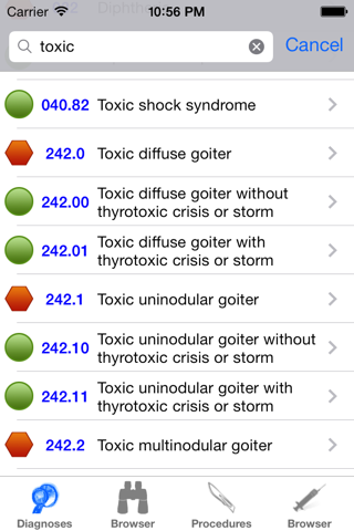 ICD9 Consult 2015 screenshot 1