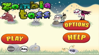 Zombie Toss Free - Ring Throwing At The Farm screenshot one