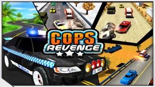 復讐COPS - 高速道路でパトカーの解体(破壊愛好家のためのゲーム)のおすすめ画像1