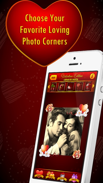Corner My Photos - Valentines Edition - Add beautiful romantic and heartfelt photo corners to your pictures-3