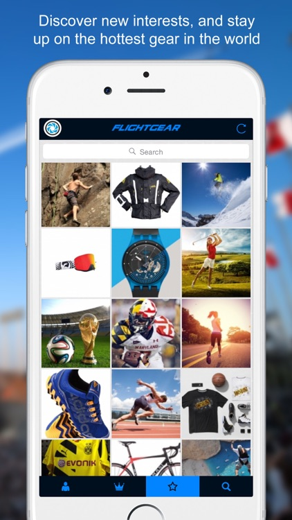 FlightGear - Social Network for Sports, Gear, Fitness, and Action