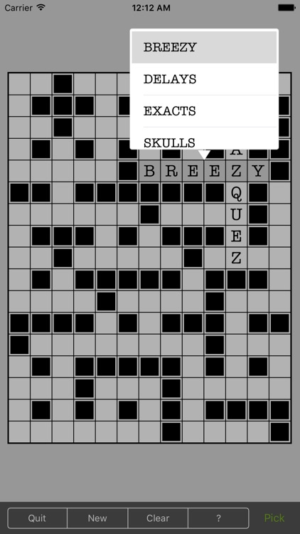 Word Fill - Infinite fill in puzzles