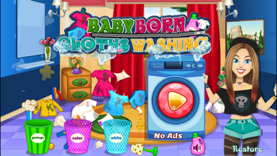 New Baby Born Clothes Washing games -baby care games