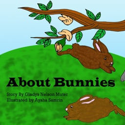About Bunnies - New - Interactive free eBook in English for children with puzzles and learning games